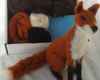 Needle Felt Fox Kit