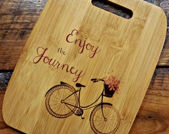 Personalized Gifts for Clients, Bamboo Cutting Board, Customized, Name Gift, Initial, Monogram, Wedding Gift