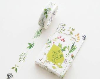 April Fruit Japanese Washi Tape,Masking Tape, Decorative Tape, Planner Sticker, Journal Sticker