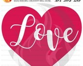 SVG Cutting File, Love Cu...