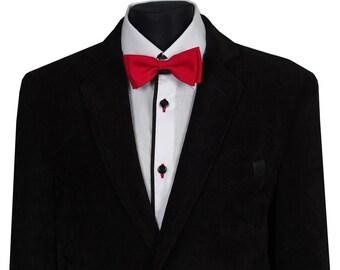 Fashionable black jacket for boys. Size 140
