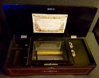 Music Box, France, XIX century (handmade).