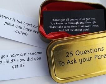 Twenty Five Questions