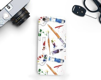 Paint and Brushes Phone Case