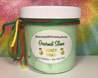 Juicy Pear Glossy Slime
