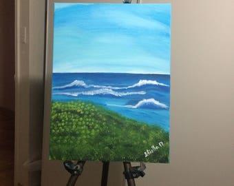 Authentic Painting (Padre Island National Seashore)