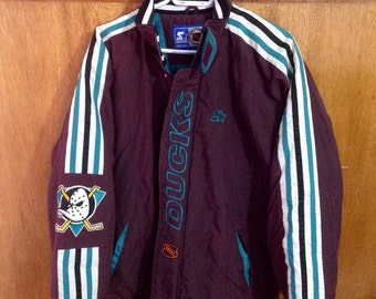 Vintage Mighty Ducks Starter Jacket
