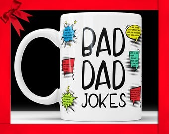 Dad Funny Mug - Funny Dad Coffee Mug Fathers Day Mug Mugs For Fathers Day Funny Dad Mug From Daughter Coffee Mug From Son Funny Father Mug