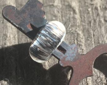 Brindle... Vintage Lampwork Key