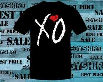 The weekend XO Love heart t shirt best price free fast shipping