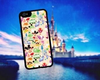 Disney Collage Print iphone case. Iphone 6 / 6s / 6 plus / 7 / 7 plus Phone case Plastic / Silicone Rubber