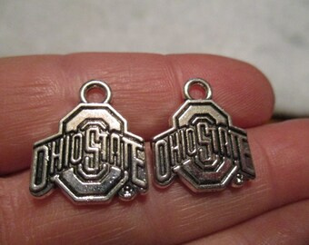 Set of 2 Ohio State Charms