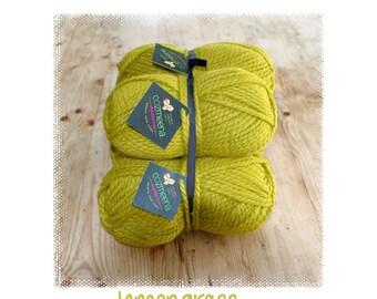 Cozmeena Shawl Kit ~ Lemongrass