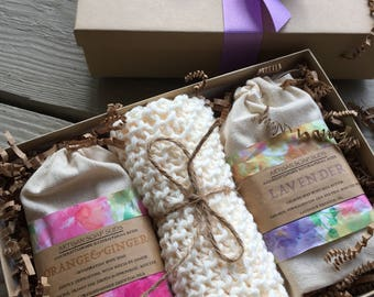 Birthday gift set, gift set, natural gifting, Mother's Day gift, gift for her