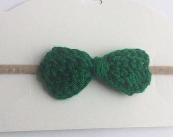 St. paddy green bow