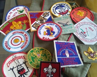 Boy Scout Patches and Hats