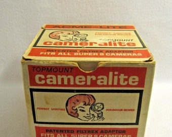 Acme-Lite Top Mount Cameralite-Fits all Super 8 Cameras
