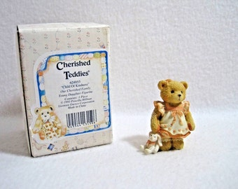 Cherished Teddies-Child of Kindness-Our Cherished Family-Young Daughter Figurine