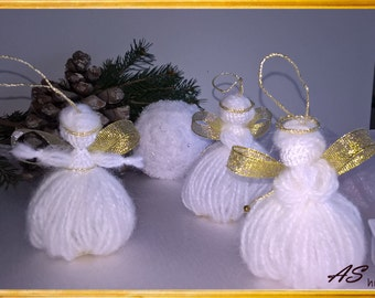 Christmas tree set 6 pieces-Angels