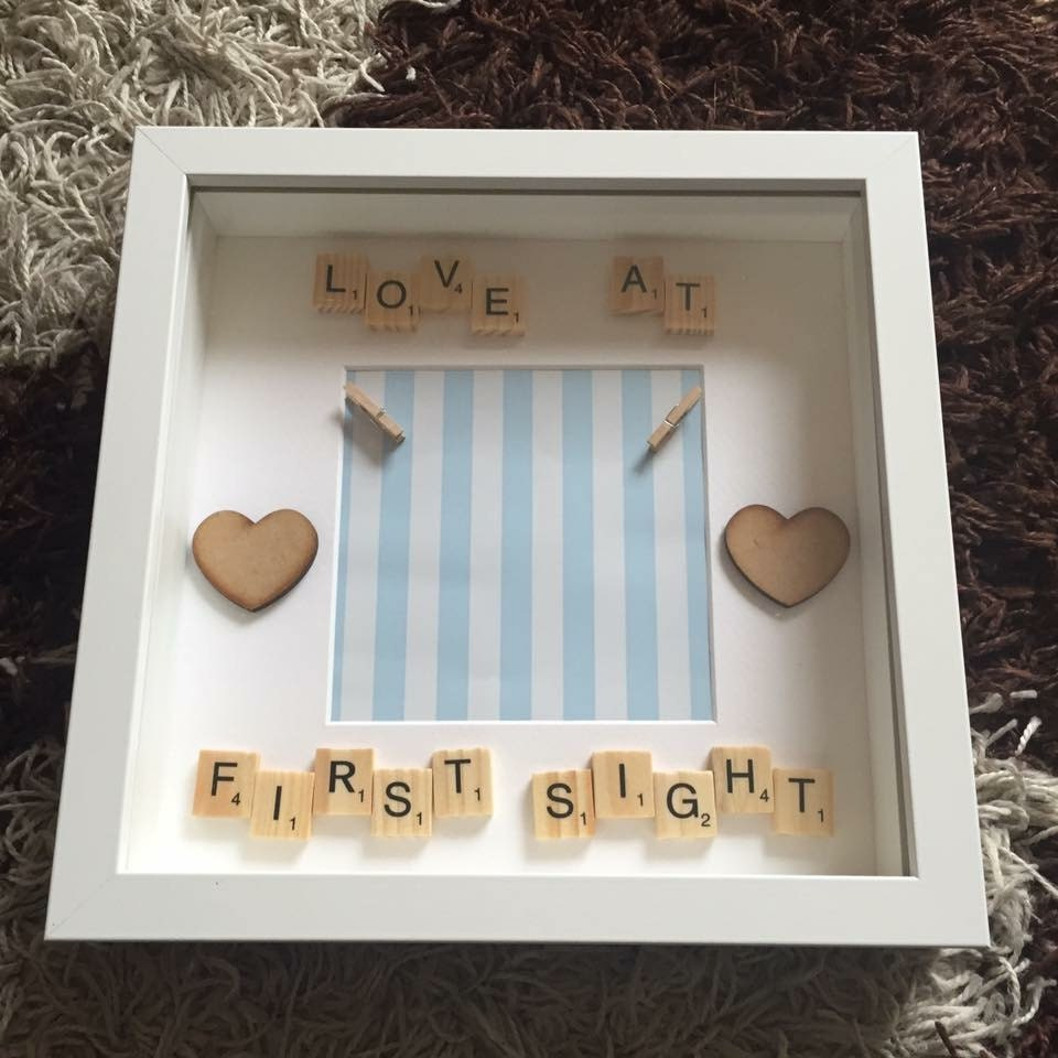 New baby gift new baby frame christening gift baby boy gift new baby boy frame baby scan frame new baby gift baby shower gift its a boy personalised gift personalised frame scan picture frame negle Images