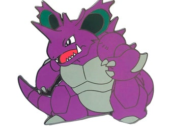 Nidoking Lapel Pin