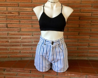 High Waisted 90's Denim Chazzz Shorts Size M
