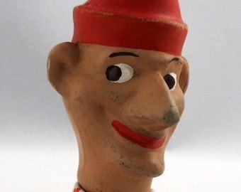 Barnsbury Styled Mr Punch Head  Punch and Judy Glove Puppet No body
