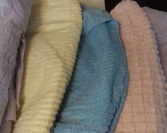 Vintage Chenille Fabric Bundle
