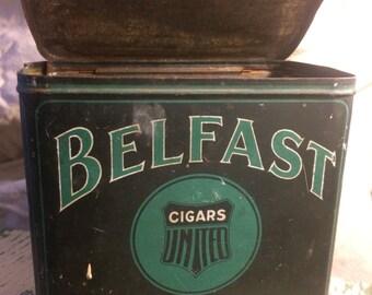 Belfast Cut Plug Cigar Tin