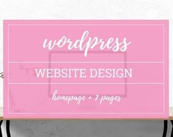 Wordpress Website Design - Web Template - Wedding Website Design - LulaRoe Web Design - Responsive Web Design - Wordpress Theme