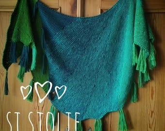 Si Sjolie Cotton Mix Summer Shawl