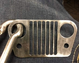Jeep Wrangler Key Chain