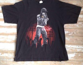 Lil Wayne Americas Most Wanted Tour Tee-Shirt
