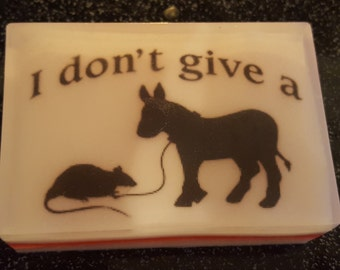 I Don't Give a Rat's A** Soap