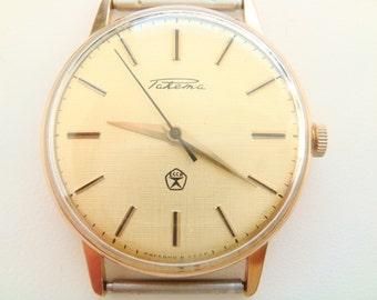 RAKETA wristwatch gilted case ideal state ussr cal 2609.HA soviet watch