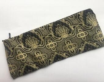 African Print Zipper Pouch / Coin Purse / African Design