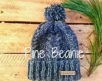 PINE \\ Cable Beanie