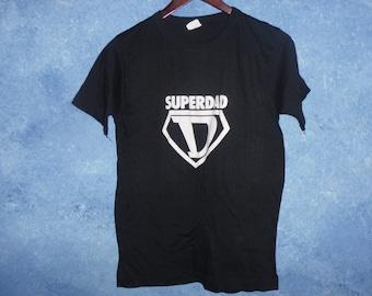 Vintage Superdad Shirt Size M