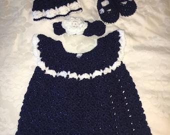 Baby girl dress/jumper set