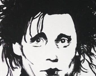 Edward Scissorhands Portrait