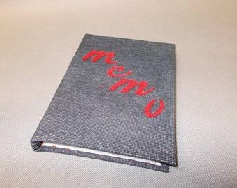 Block note, small notebook, memo