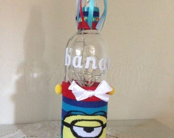 Lamp bottle Minions
