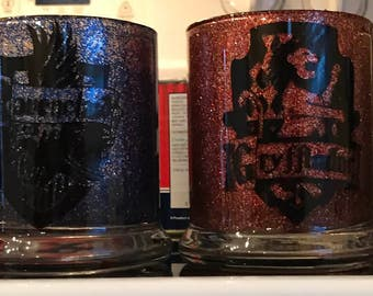 Harry Potter Glitter cups