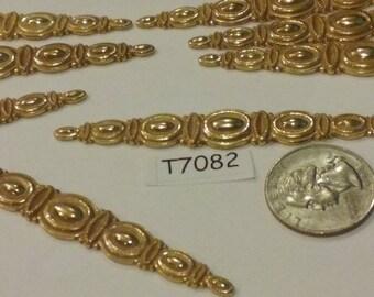 Vintage, finding, Brass, Stamping, older T7082