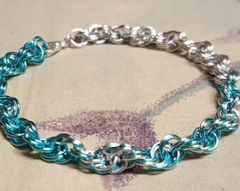 Angels' Grace spiral bracelet