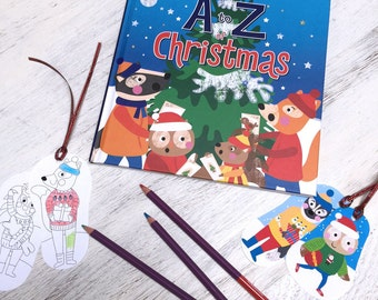 A to Z of Christmas - Early readers book
