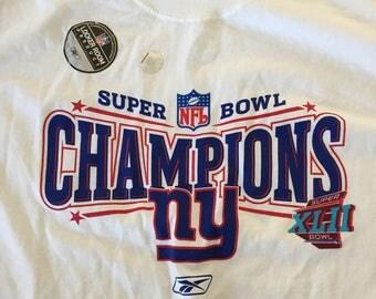 2008 NY Giants Super Bowl Champions Shirt