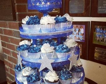 Customized cupcake tower