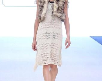 Repurposed Coyote Fur Vest