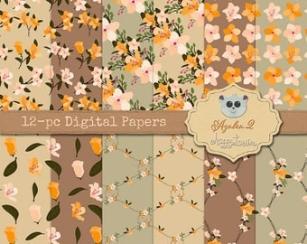 80% OFF! - Azalea 2 Digital Paper